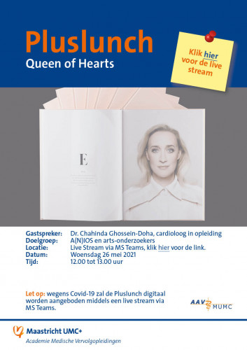 Poster Pluslunch 'Queen of Hearts'